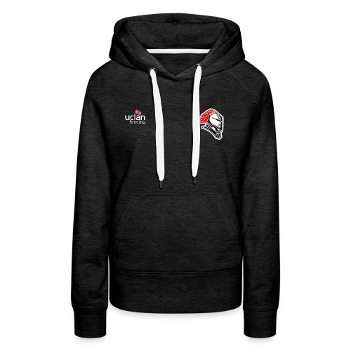 knights logo 1 red black - Women's Premium Hoodie