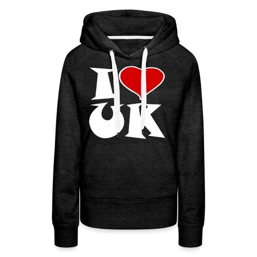 England - Ich Liebe UK - Frauen Premium Hoodie