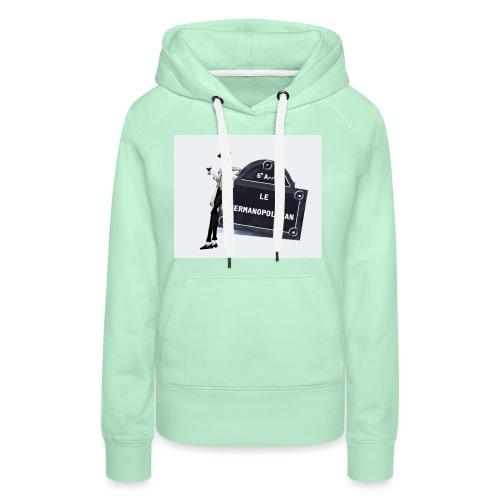 Sac Le Germanopolitan - Sweat-shirt à capuche Premium pour femmes