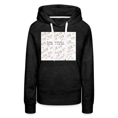cARETUS_1-jpg - Sudadera con capucha premium para mujer