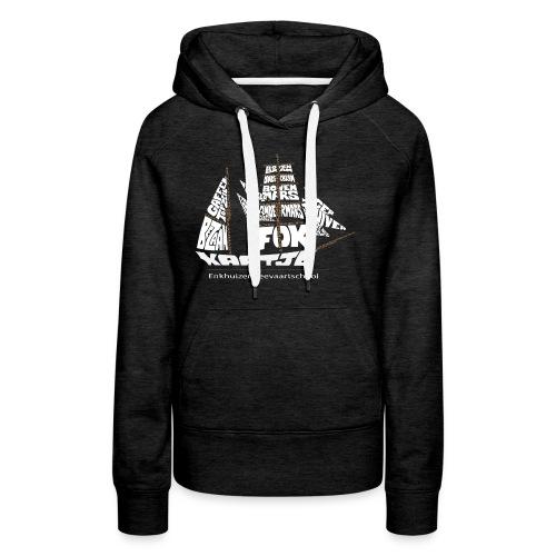 EZS T shirt 2013 Back - Vrouwen Premium hoodie