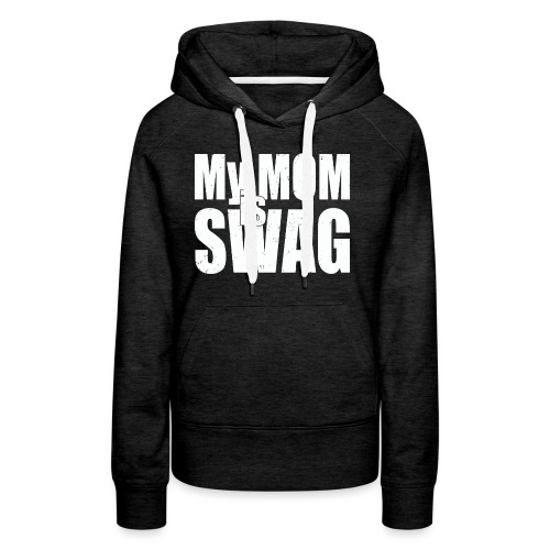 Swag White - Vrouwen Premium hoodie
