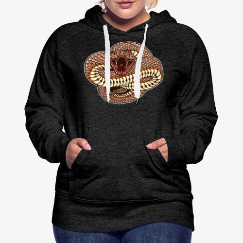 Wild und gefährlich - Frauen Premium Hoodie