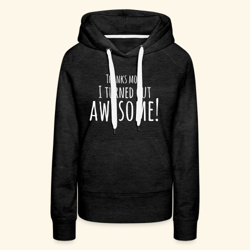 awesome - Vrouwen Premium hoodie