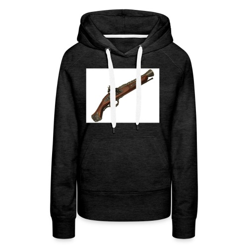 Pistola - Sudadera con capucha premium para mujer