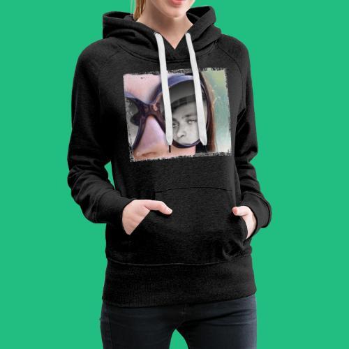 legionairelunette - Sweat-shirt à capuche Premium pour femmes