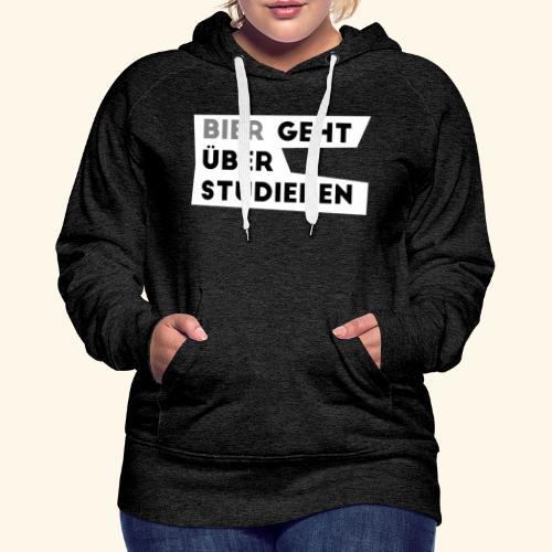 Bier4dunkel - Frauen Premium Hoodie