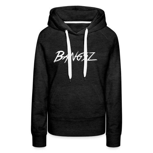 Bangsz Sweater- White print - Vrouwen Premium hoodie