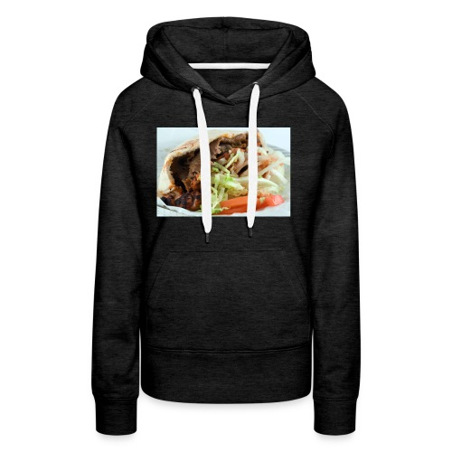 kebab trøje - Dame Premium hættetrøje