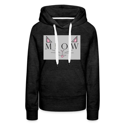 Meow - Women's Premium Hoodie