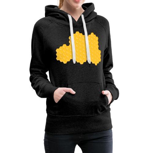 Bienenwabe - Frauen Premium Hoodie