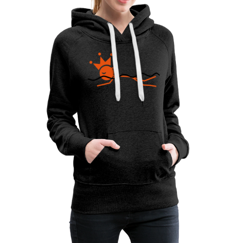 Zwemkoning - Vrouwen Premium hoodie