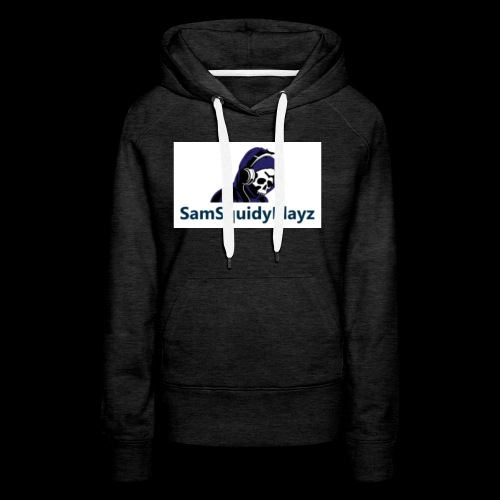 SamSquidyplayz skeleton - Women's Premium Hoodie