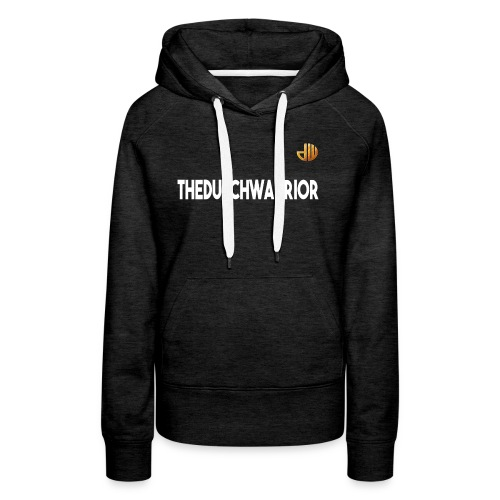 TheDutchWarrior_met_logo - Vrouwen Premium hoodie