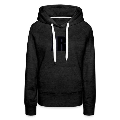 logo zwart - Vrouwen Premium hoodie