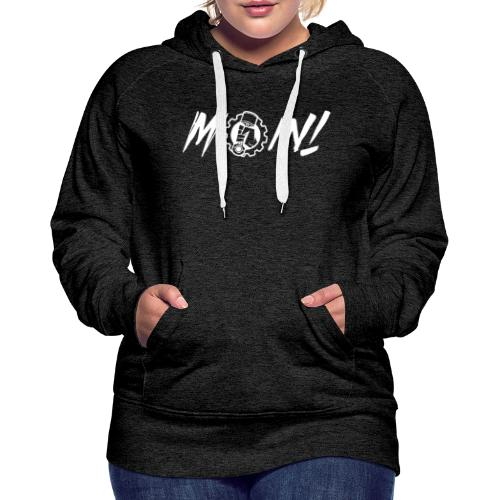 Moin white - Frauen Premium Hoodie