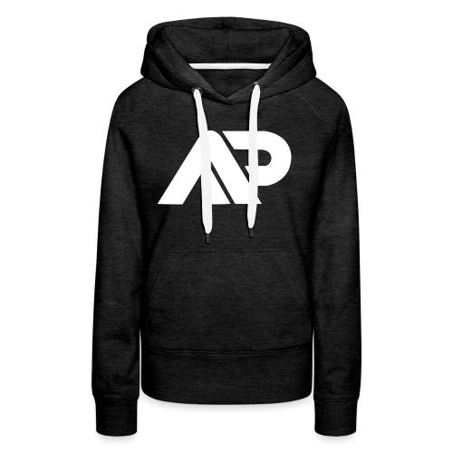 APGP Hvid - Dame Premium hættetrøje