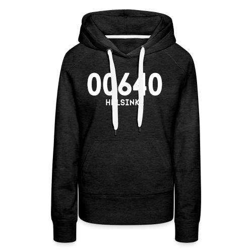 00640 HELSINKI - Naisten premium-huppari