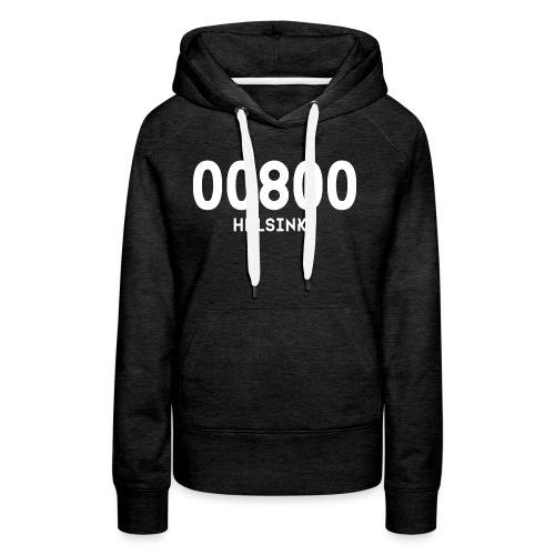 00800 HELSINKI - Naisten premium-huppari