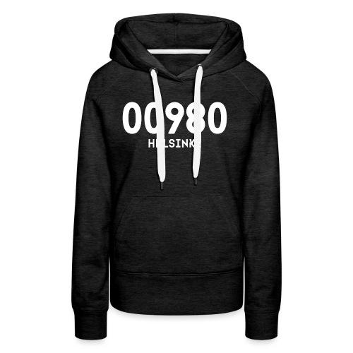 00980 HELSINKI - Naisten premium-huppari
