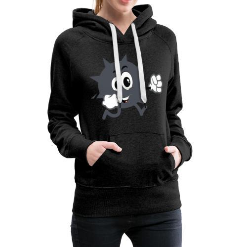 Logo démineur - Sweat-shirt à capuche Premium pour femmes