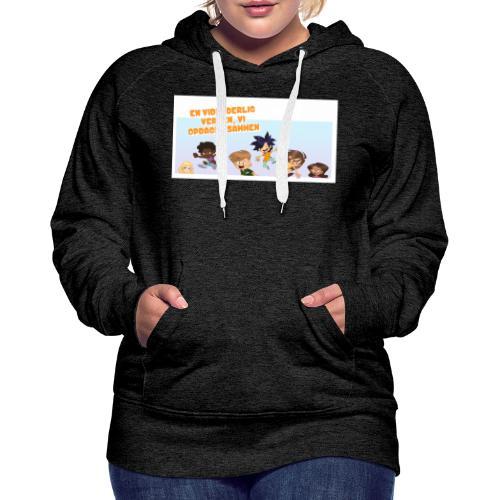 Kids_1 - Dame Premium hættetrøje