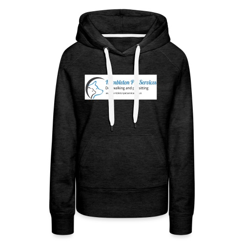 Logo Side by Side With www - Women's Premium Hoodie