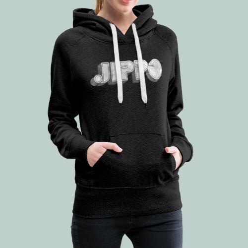 Retro JIPPO logo - Naisten premium-huppari