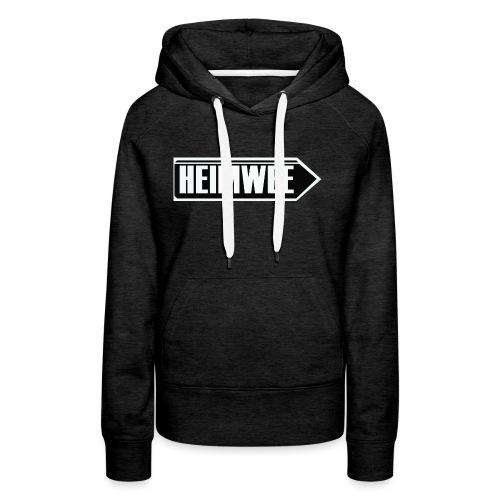 HNN PIJL VOOR T SHIRT 2 png - Vrouwen Premium hoodie
