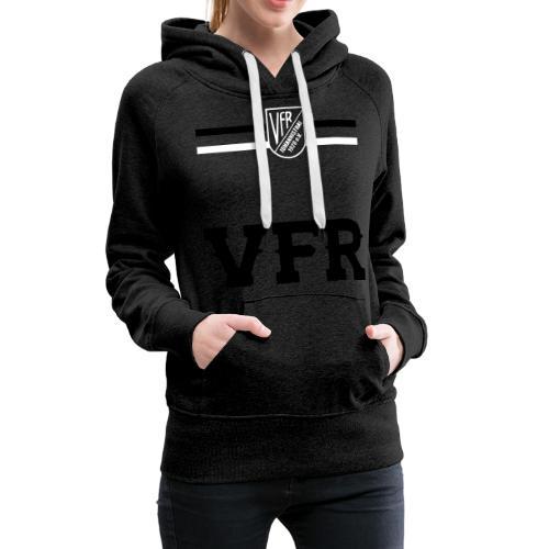 VORNE VFR BRUSTRING - Frauen Premium Hoodie