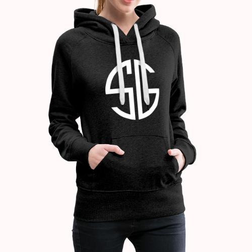 SemGamer log in wit - Vrouwen Premium hoodie