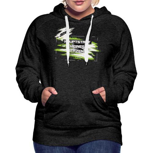 Jena Hauptstadt - Frauen Premium Hoodie