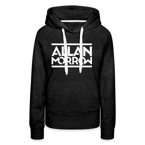 Allan Morrow logo - Women's Premium Hoodie