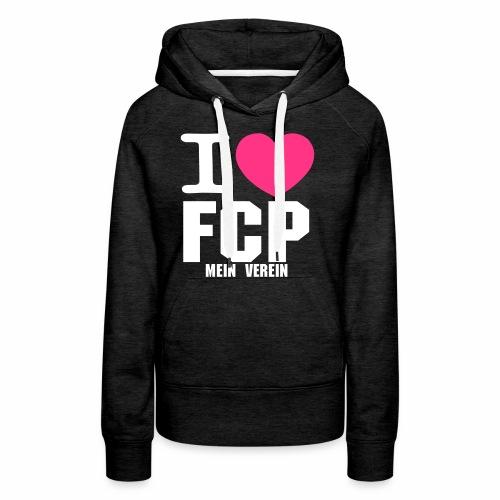 I LOVE FCP - Frauen Premium Hoodie