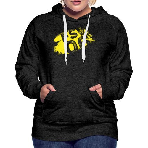 Hildburghausen FSV 06 Graffiti gelb - Frauen Premium Hoodie