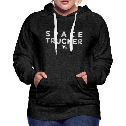 SpaceTrucker ISFA - Frauen Premium Hoodie