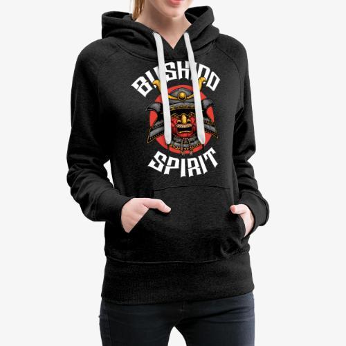 Bushido Spirit - Sweat-shirt à capuche Premium pour femmes