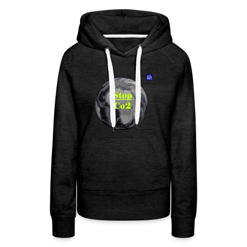 Co2-OuT! Save the Planet and your self! - Frauen Premium Hoodie