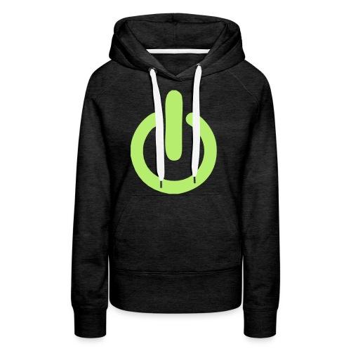 beheerd uitknop - Vrouwen Premium hoodie