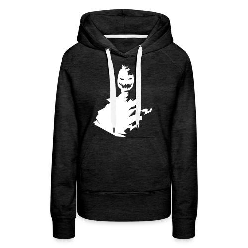 t shirt monster (black/schwarz) - Frauen Premium Hoodie