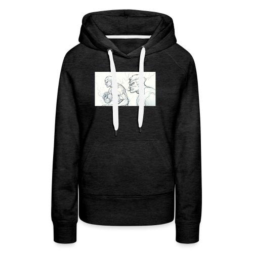 Drawing_1-jpg - Women's Premium Hoodie