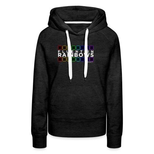 Fluent In Rainbows // Kaskobi - Women's Premium Hoodie