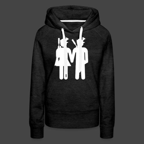 nxrt gen hntr wht - Frauen Premium Hoodie