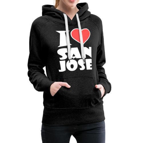 I love San Jose - Frauen Premium Hoodie