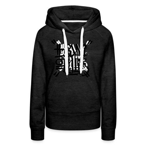 teamoullie logo white - Vrouwen Premium hoodie