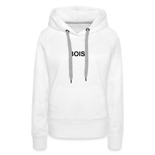 BOIS HÆTTETRØJE - Dame Premium hættetrøje