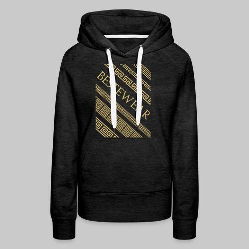 #Bestewear - Gold Chain´s - Frauen Premium Hoodie