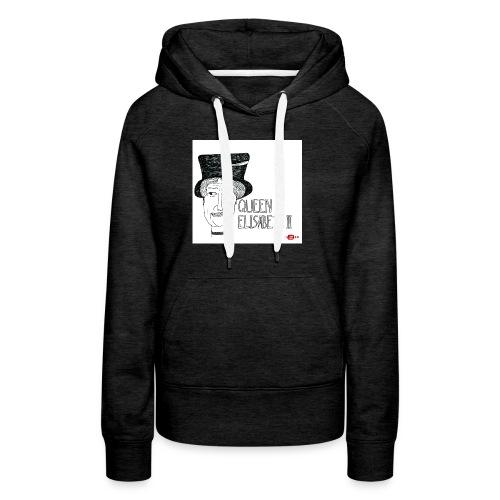 queen elisabeth ii - Vrouwen Premium hoodie