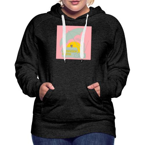 Hisingens playa pink - Premiumluvtröja dam