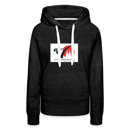 Fanshop_Logo_Karate_Ag - Frauen Premium Hoodie